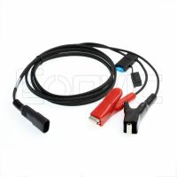 Buy cheap External Battery Power Supply Cable Alligator Clips SAE 12V For Trimble Topcon from wholesalers