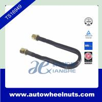 China High Strength Truck Wheel Nuts , M27 x 3 x 92 x 400 U Shape Bolt With Nuts wholesale