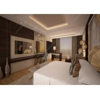 Buy cheap Customized Luxury Hotel Bedroom Furniture / 5 Star Hotel Bed ISO9001 ISO14001 from wholesalers
