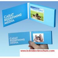 China 4.3 inch video greeting card / Trade show invitation LCD digital advertising electronic brochure wholesale