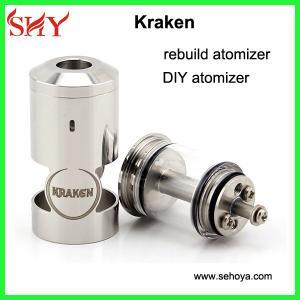 Quality Rebuildable Kraken atomizer mechanical mod DIY atomizer cloutank atomizer for sale