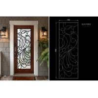 China Modern Technology 2264 Inch Wrought Iron Glass Instant Iconic Stain Grade Jamb wholesale
