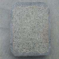 China China Granite Dark Grey G654 Granite Stepping Stone 4 Edges Natural Top Flamed Surface wholesale