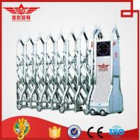 China remote control professional automatic gate with wind-proof for bank J1425 on sale