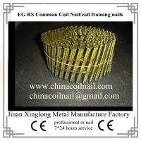 China coated coil nails with good carton packing manufacturer on sale