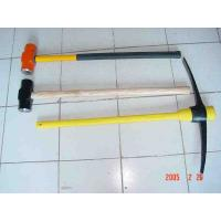 China P402 pickaxe with fiberglass handle, sledge hammer , pick axe head, pickaxes wholesale