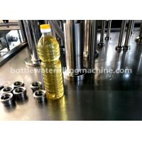 China 3000BPH Soybean Oil 1L Plastic Bottle Filling And Capping Machine 2-In-1 wholesale