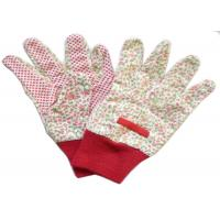 Reusable Industrial Work Gloves , Cotton Knitted Gloves Fabric Cotton Drill