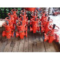 China API 6A FC type Comeron Gate Valve ,rising stem ,Material DD ,the high pressure Valve /wellhead on sale