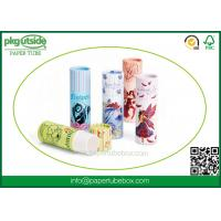 China High End Paper Lip Balm Tubes Durable , Elegant Design Paper Chapstick Tubes wholesale