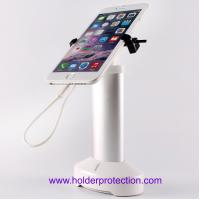 China COMER handphone alarm display mobile charger stand anti theft system with high security locker wholesale