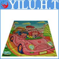 China baby cartoon polar fleece blanket king and queen in bedding supplier wholesale