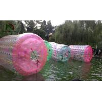 China Colorful Inflatable Water Toy , Human Size Inflatable Water Roller Ball wholesale