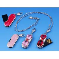 OEM Unique 16GB Metal Jewelry Usb Flash Drives with 12MB/sec Write Speed Manufactures