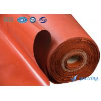 China High Strength Soft Silicone Fiberglass Fabric For Fire Doors wholesale