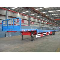 China Flat Bed Semi-Trailer-2 loading plate form with goose neck-9403TJZLB on sale