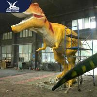 China Waterproof Life Size Models Of Animals / Dinosaur Garden Ornaments wholesale