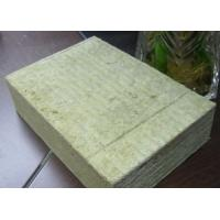 China Rock Wool Roof Insulation Board Non - Toxic Corrosion Resistant wholesale