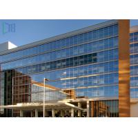 China Building Material Aluminium Curtain Wall Waterproof With Double Glazing Glass wholesale
