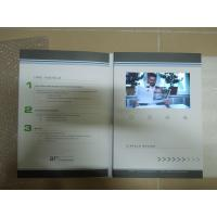 China 4G CMYK Printing LCD Invitation Video Card For Promotional Activities / Ceremony wholesale