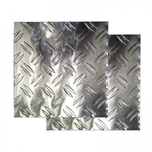 China Non Skid Aluminium Checker Plate With Superior Corrosion Resistance wholesale