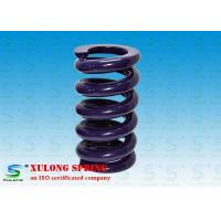 China Purple Powder Coated Heavy Machinery Springs / Engineering Springs Compression wholesale
