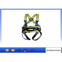 China Construction Safety Belt Full Body Safety Harness With 100% Polyester wholesale