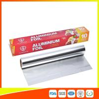 Quality Customized Household Aluminum Foil Roll For Food Wrapping , Aluminum Foil Paper for sale