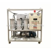 China Frame Double Stage Vacuum Transformer Oil filtration plant, Dielectric Mineral Insulation Oil Dehydration factory wholesale