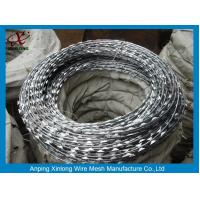 China Multi Type Stainless Steel Razor Wire / Barbed Wire Roll For Grass Boundary on sale