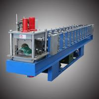 China 4-5m/min Roof Ridge Cap Roll Forming Machine Fully Automatic Control wholesale