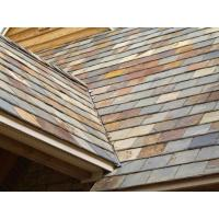 China Multicolor Slate Roof Tiles Rusty Roof Slates Natural Slate Roofing wholesale