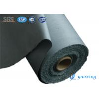 China Durable  PU Coated Fabric Polyurethane Polymer Coated Fiberglass Fabrics Resistance To Oils And Solvents wholesale