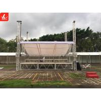 China Professional Box Truss System Stage Trussing For Indoor Event 500mm - 4000mm wholesale