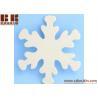 China Unfinished Wood Snowflake Cutout Christmas tree ornaments Holidays Gift Ornament wholesale
