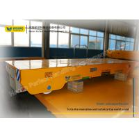 China Precision Tubes Rail Transfer Cart / Material Handling Trolley Four Wheels wholesale