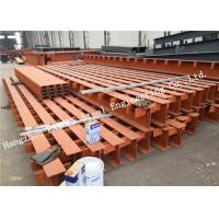 China Prefabricated Q355b Strength Galvanized Structural Steel Fabrications Steel Member Surface Painting on sale