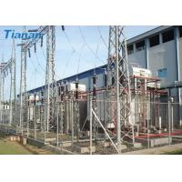 China 3 Phase 110kV Industrial Oil Immersed Power Transformer With Corrugated Steel Plate Tank wholesale