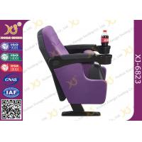 Cup Holder Options Available Low Backrest Commercial Public Cinema Room Chairs Manufactures