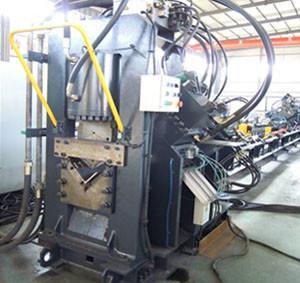 China CNC angle punching line, angle punching, shearing and marking line TJX1412 wholesale