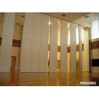 China Natural Wood Veneer Movable Partition Walls With Melamine Finish wholesale