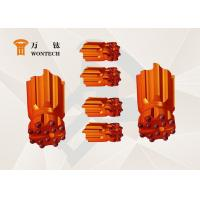 China Fast Penetration Borehole Drilling Tools , Button Type Coal Mining Bits wholesale