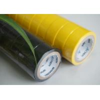 China UL And CSA Flame Retardant Tape Heat Resistant Yellow Electrical Tape wholesale