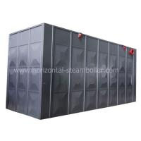 China Fire Tube Chain Grate Thermo Oil Boiler / Biomass Fired For Wood Processing on sale