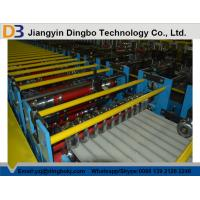 China Corrugated Steel Roofing Roll Forming Machine with 3kw Hydraulic Motor Power wholesale