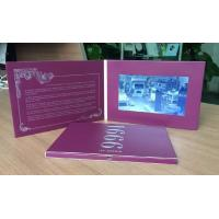 """China High resolution digital birthday cards , 2.4"""" / 4.3"""" / 5"""" / 7"""" video business cards wholesale"""
