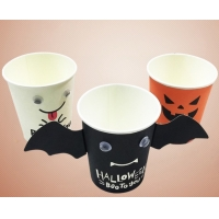 China 205ml Halloween Christmas Party Birthday Paper Cup Disposable wholesale