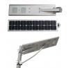 China High Bright Solar LED Street Light 30 WATT , 3000 - 3300 Lm Luminous Flux wholesale