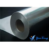 China Sliver Aluminum Foil Fiberglass Cloth To Reflect Radiant Heat Away wholesale