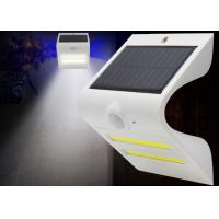 China Weatherproof Motion Sensor Solar Garden Light Will Turn On Automatically At Night wholesale